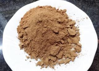 Foto de algarroba soluble y panela