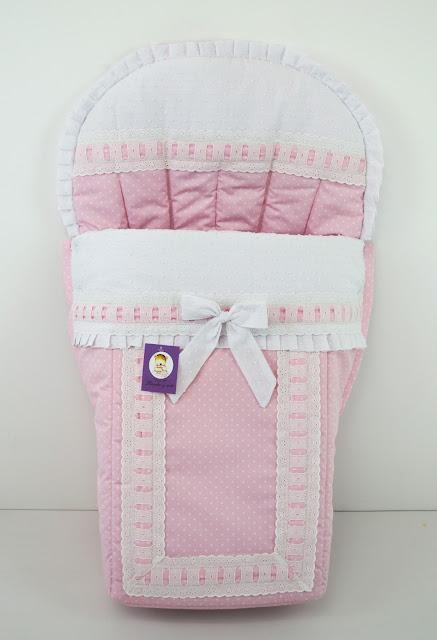 funda bugaboo plumeti topitos rosa