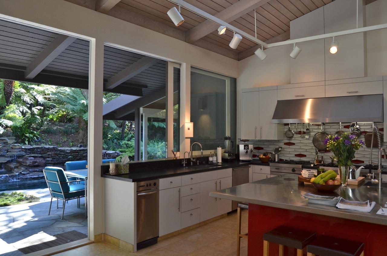 Pass Through Kitchen Window Black Glass Cabinet Doors Contemporary Living Room Fires Obsidiansmaze