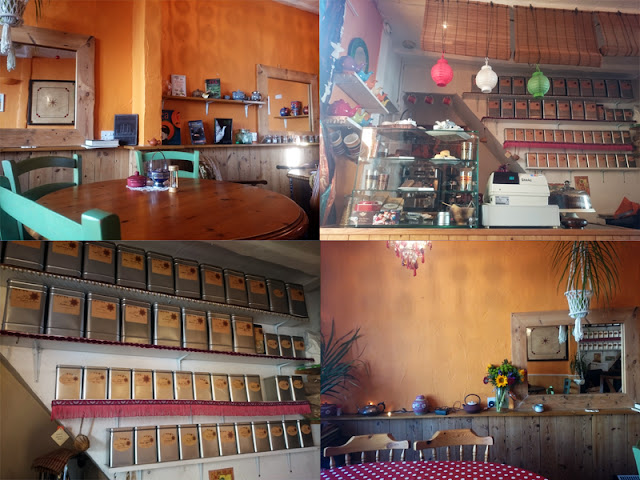 interior images of talk of tea brighton