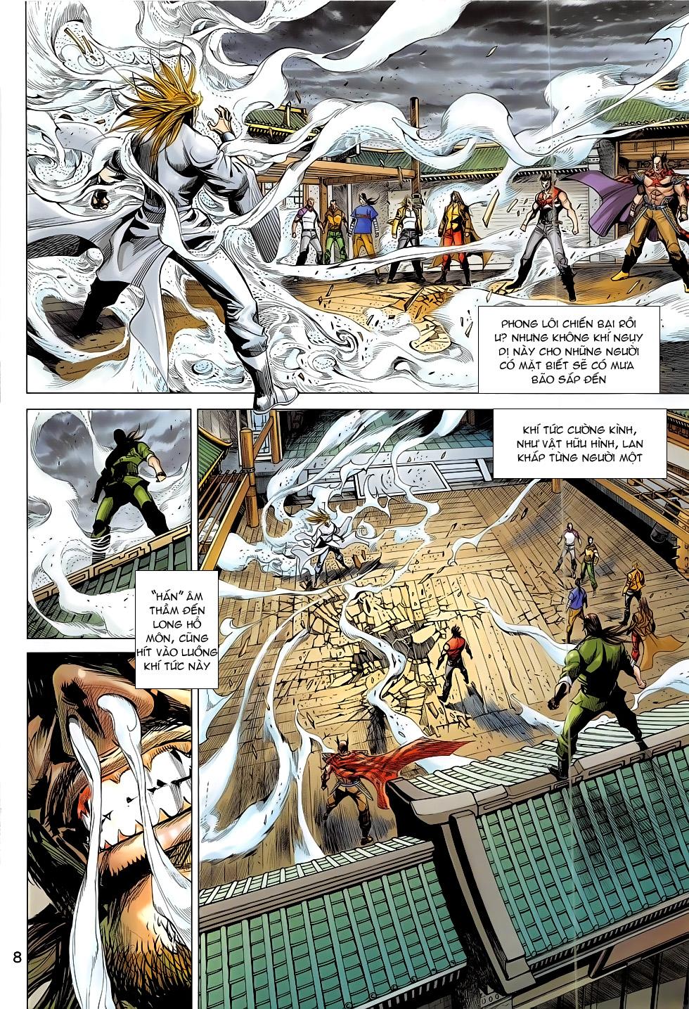 Đông Phương Chân Long chap 65 - Trang 8