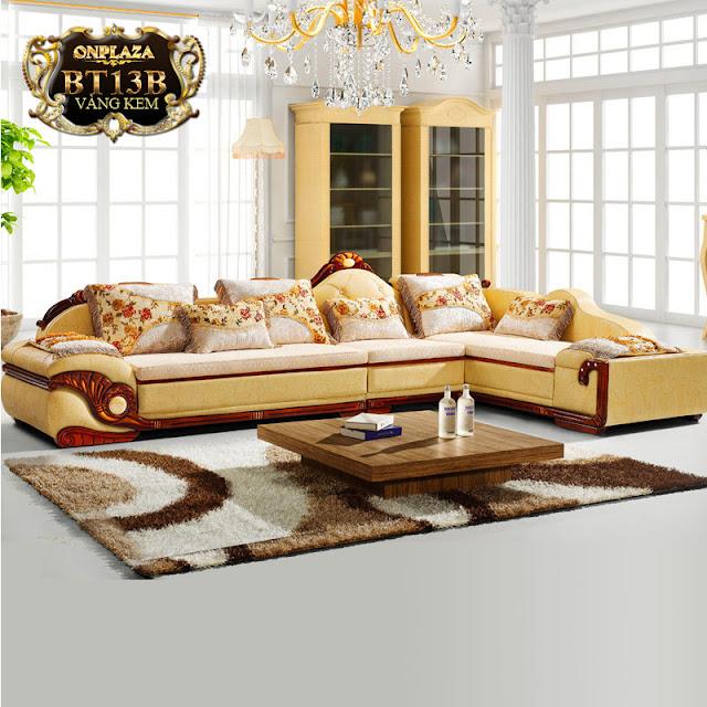 Ghế sofa tân cổ điển hiện đại, cao cấp