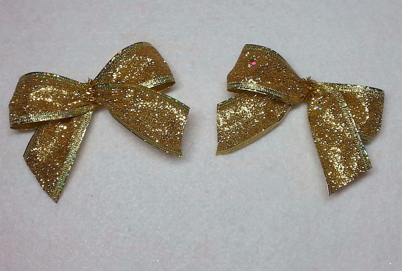DIY~Make Super Easy Bows For Wreath Ornaments, Angel Wings, Boxes ...