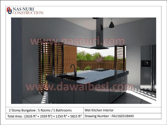 interior designer malaysia wet kitchen