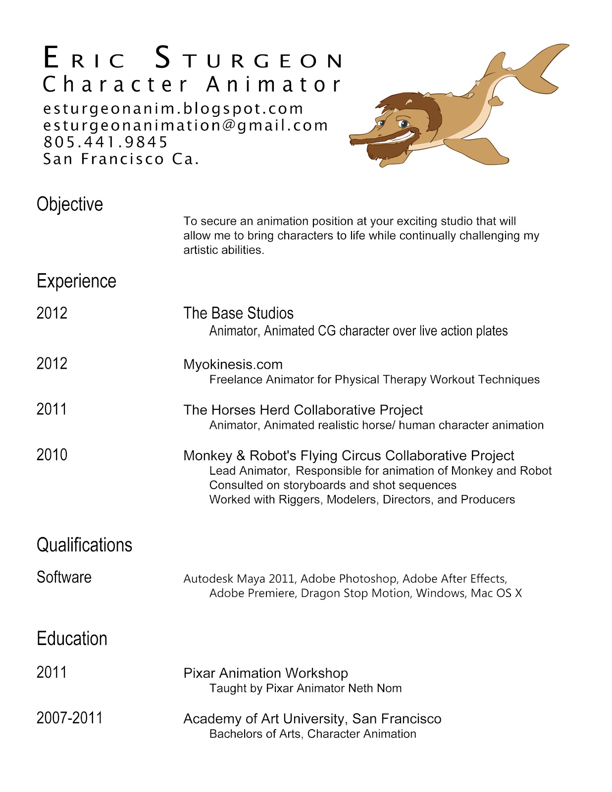 how to make a professional dance resume