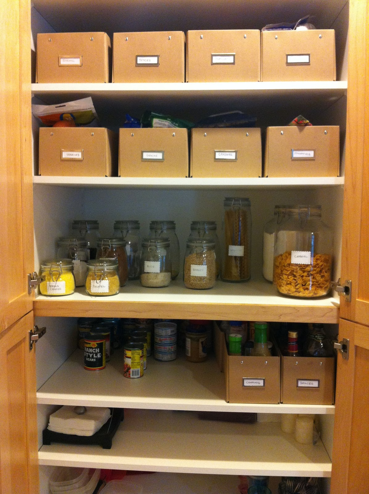 Organize Kitchen Cabinets Home Decor Diy Ideas Organizing Grocery Cabinets