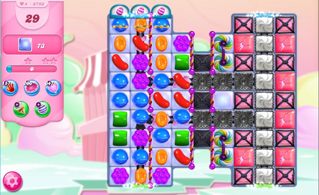 Candy Crush Saga level 6793