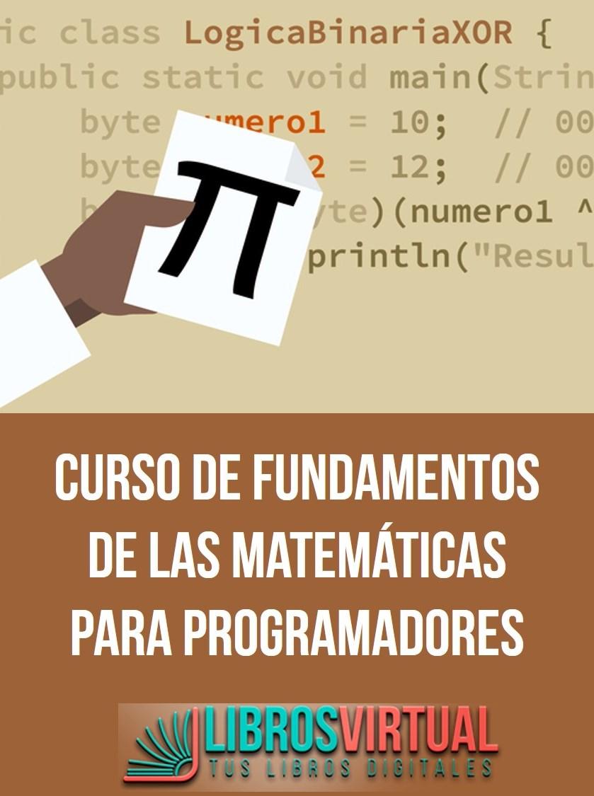 Video2Brain: Curso de fundamentos de las matemáticas para programadores