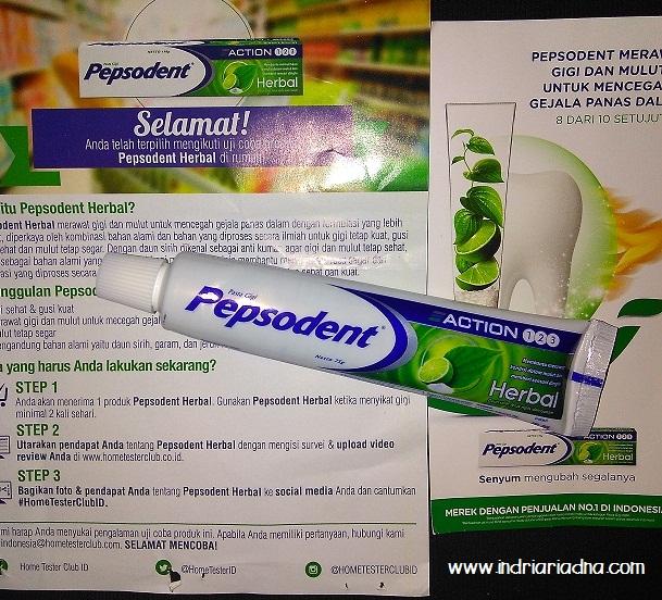 Pepsodent Herbal