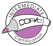 Copic Standard Certification and Copic Intermediate Certification