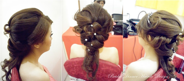 nice hair, half up down multi braid