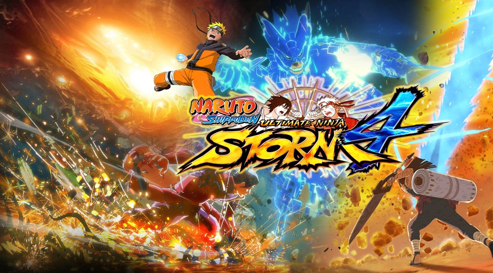 Naruto Shippuden Ultimate Ninja Storm 4 PC Download Poster