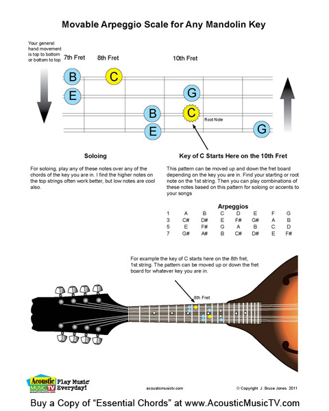Mandolin 8 string mandolin chords : Acoustic Music TV