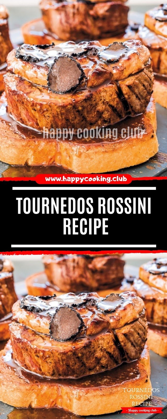 Tournedos Rossini Recipe
