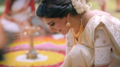 Samantha Ruth Prabhu Wearing Saree HD Photo In Mersal