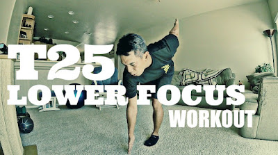 T25 Lower Focus Workout, T25 on Beachbody on Demand, Leg Day Workout, T25 Challenge Pack