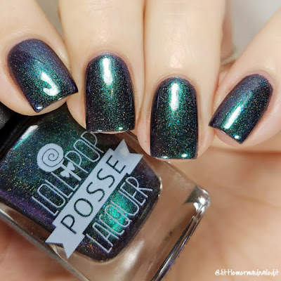 Lollipop Posse Lacquer Ghost Queen The Really Effing Brutal Trio Swatches and Review