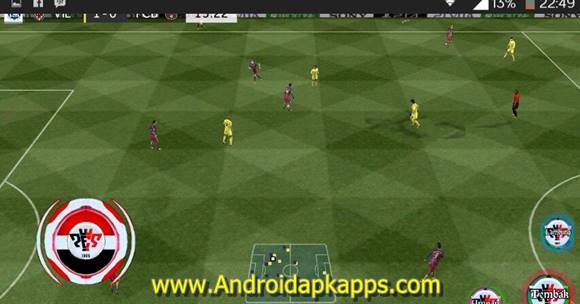 Free Download First Touch Soccer PES 2016 Apk MOD (FTS) Full OBB Data Android Latest Version Gratis