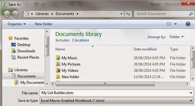 Toolbox4Planning Build A List Macro (Excel) to Search Multiple Work