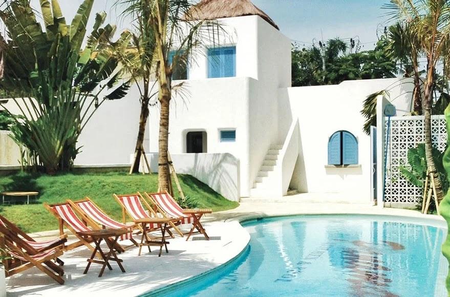 Panama Kitchen Pool Cafe Instagramable Di Bali Ayuk Liburan