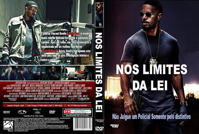 Capa DVD Nos Limites Da Lei