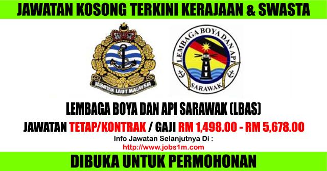 Jawatan Kosong Lembaga Boya dan Api Sarawak (LBAS) - 13 Januari 2017