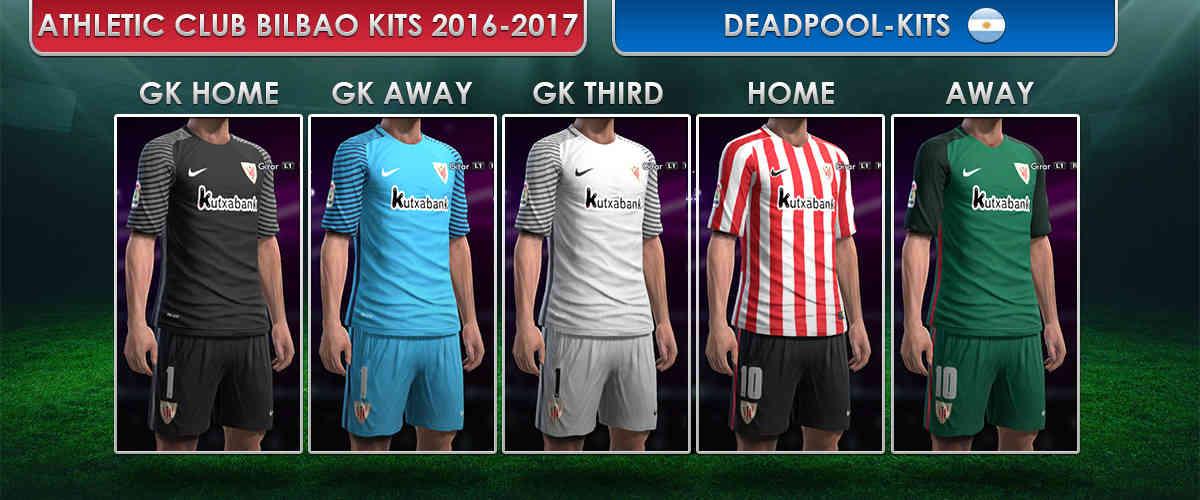 Pes 2013 Athletic Bilbao Kits 2016 17 By Deadpool Kits