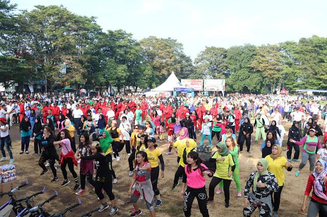Yonif MR 411 Kostrad Ikuti Pembukaan Milennial Road Safety Festival Polres Kota Salatiga