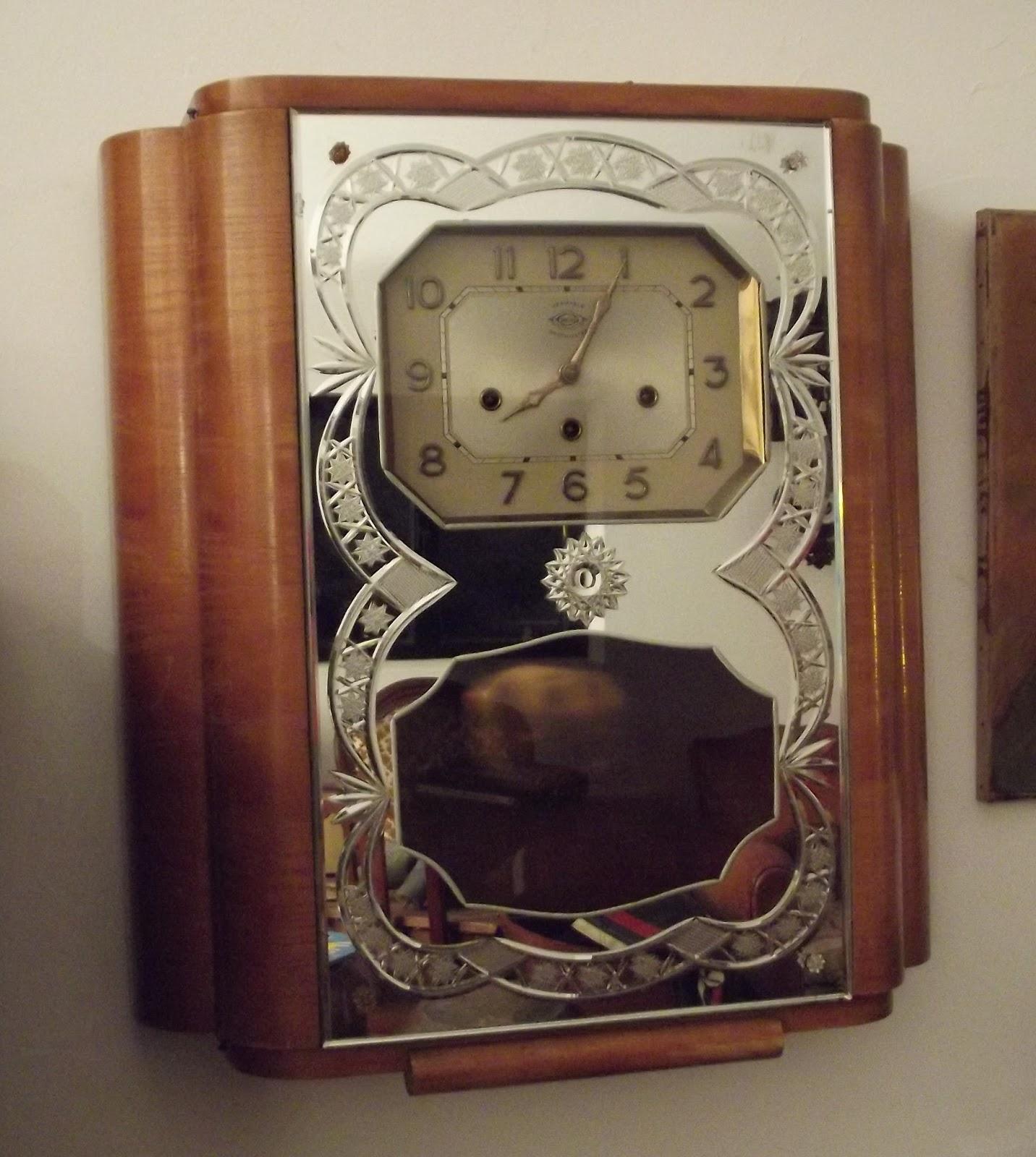 ancien carillon veritable westminster irod 2 melodies ave maria miroir. Black Bedroom Furniture Sets. Home Design Ideas