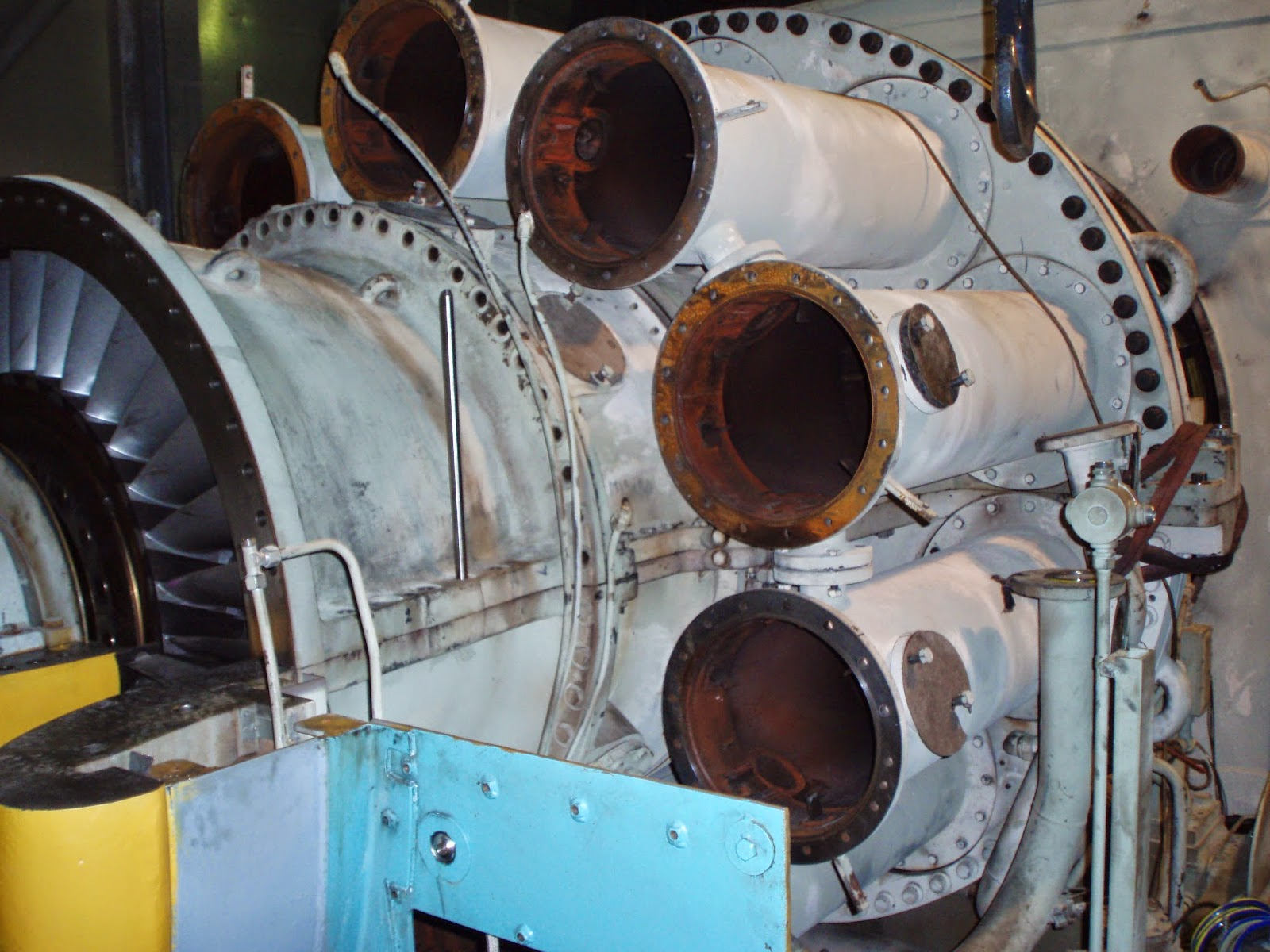 Engineering Photos Videos And Articels  Engineering Search Engine   Alstom Frame 5 Turbine