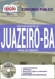 Apostila CSTT BA Fiscal de Trânsito concurso Prefeitura Municipal de Juazeiro.