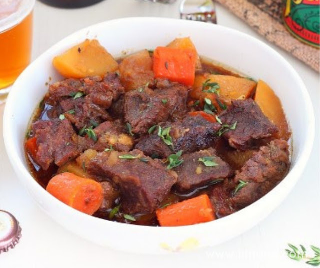 Beer Beef With Carrots And Potatoes
