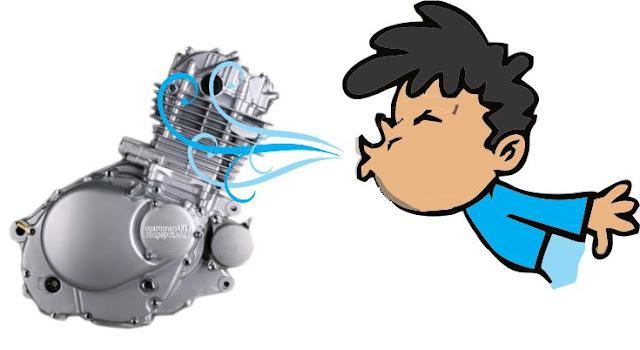 Sistem pendingin pada mesin