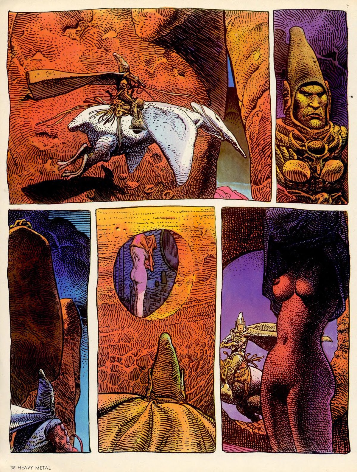 Head Medicine S Museum Of International Comic Art Moebius