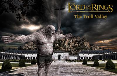 el villano arrinconado, humor, chistes, reir, satira, el señor de los anillos, Troll, orco