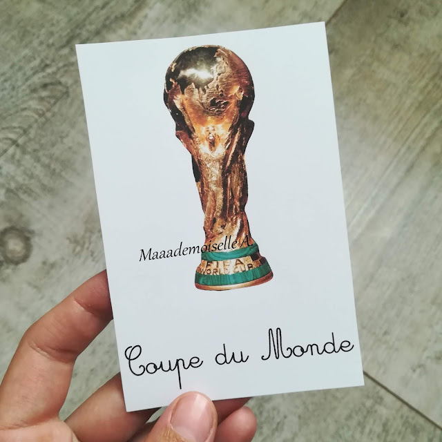 Cartes de nomenclature football - Maaademoiselle A. Shop