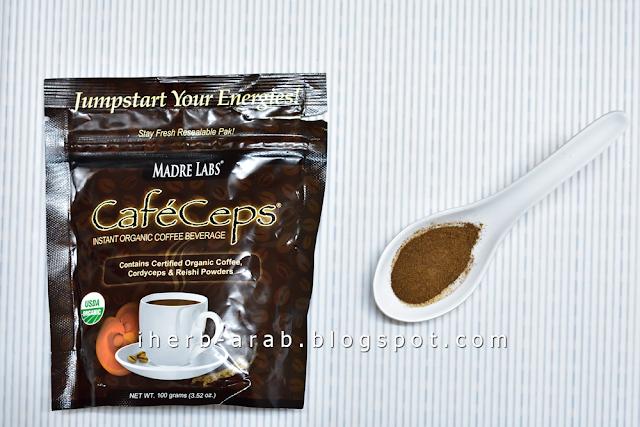 طريقة عمل قهوة اي هيرب الفورية والعضوية كافيه سيبس