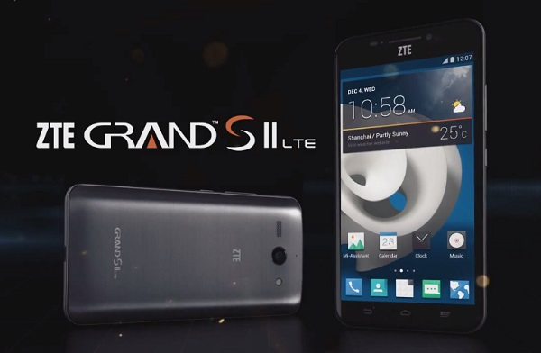 ZTE Grand SII - LTE Firmware Download