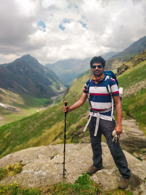 Rupin Pass Upper waterfall trek