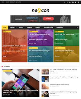 Newcon blogger template event blogging