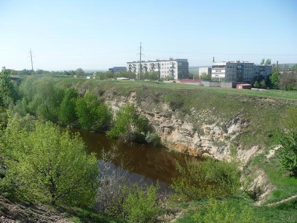 Олексієво-Дружківка. Кар'єрний ставок