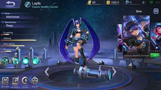 Cara Mendapatkan Skin Layla Classic Malefic Gunner Mobile Legends