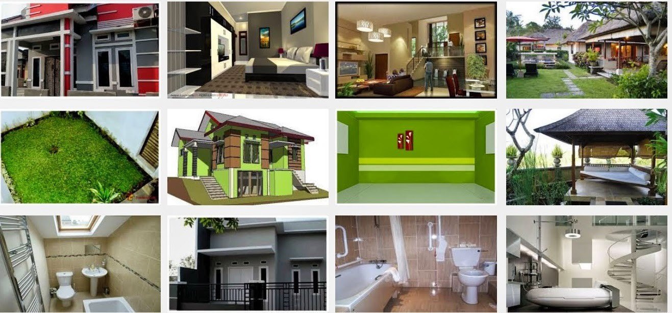 model rumah kampung sederhana 1