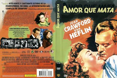 Amor que mata | 1947 | Possessed | Dvd Cover | Carátula
