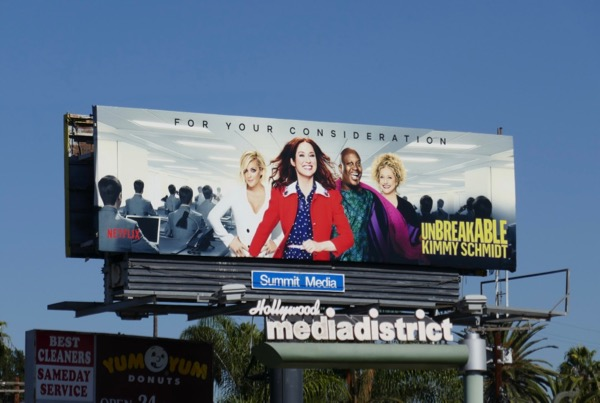 Kimmy Schmidt season 4 FYC billboard