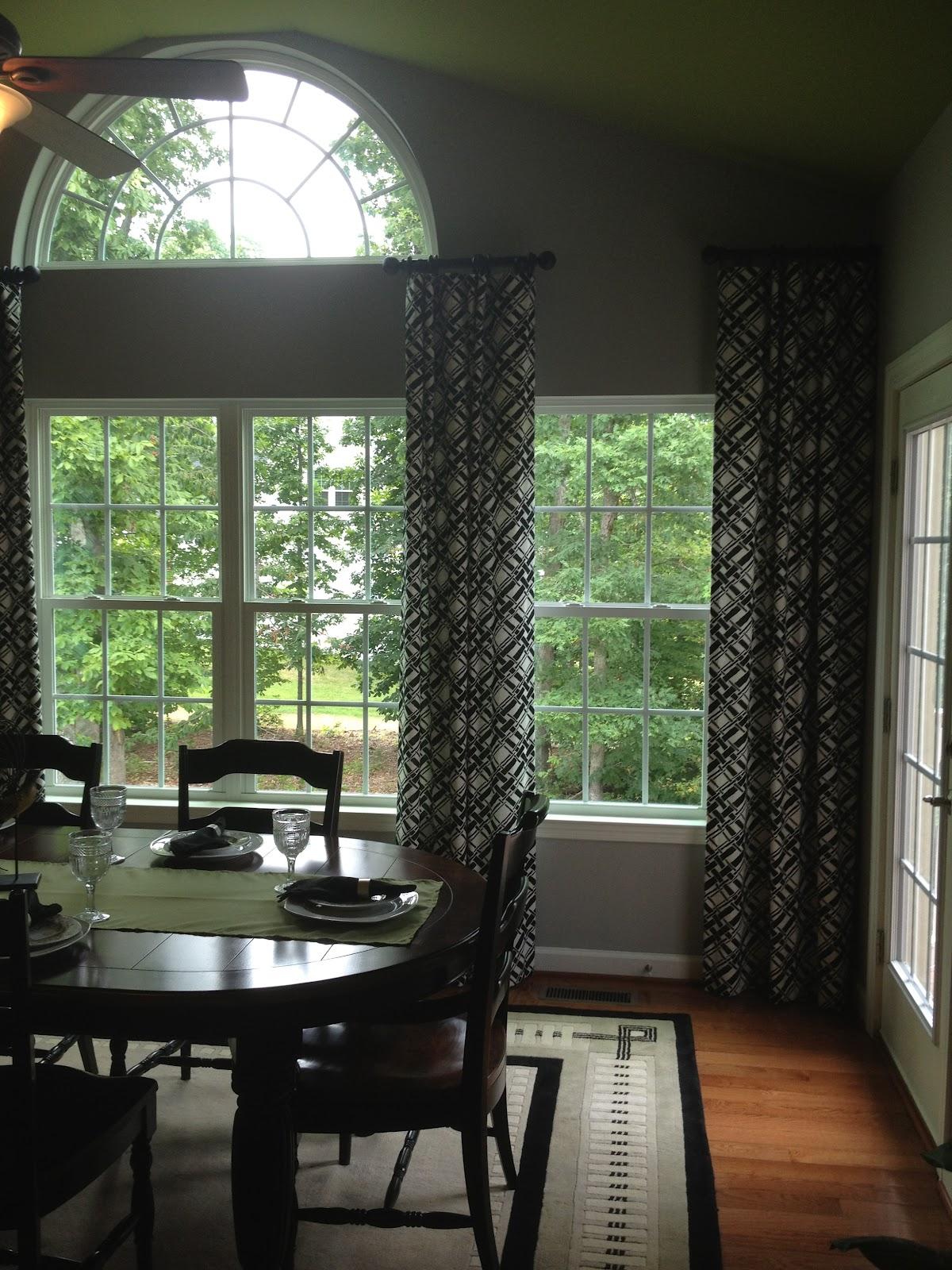 Morning Room Window Treatments