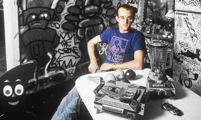 LIVE WITH ART Keith Haring