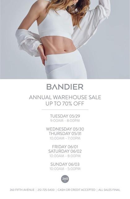 Bandier sample sale