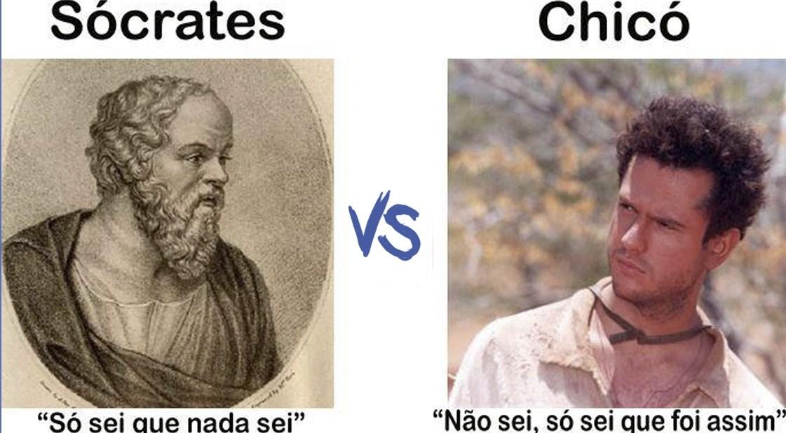 So Sei Que Nada Sei Frase De Socrates: Atalhos Para O Caminho: Mutamos: Conhecimento