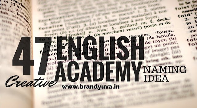 english language academy names idea